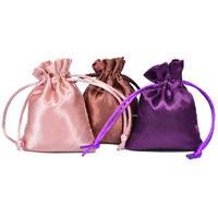 Customized Satin Hair Bundle Packaging Bags